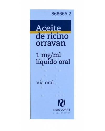 ACEITE DE RICINO ORRAVAN -...
