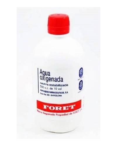 Agua oxigenada - foret - 500 ml