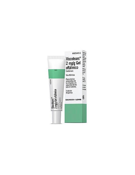 Viscotears 2 mg/ g gel oftalmico -10 gramos