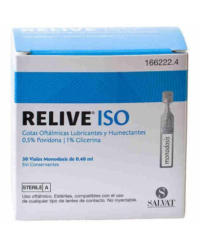 RELIVE ISO - 30 VIALES...
