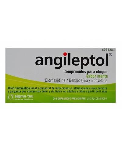 ANGILEPTOL - MENTA - 30...