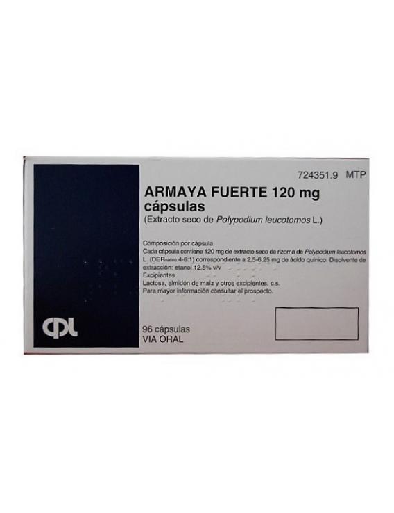 Armaya fuerte 120 mg - 96 cápsulas