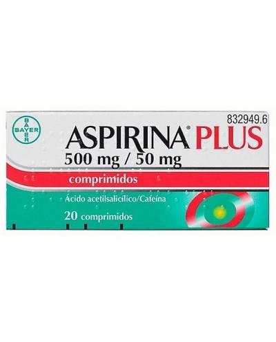 ASPIRINA PLUS - 20 COMPRIMIDOS