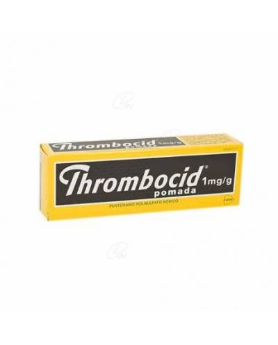 THROMBOCID 1MG/G - POMADA
