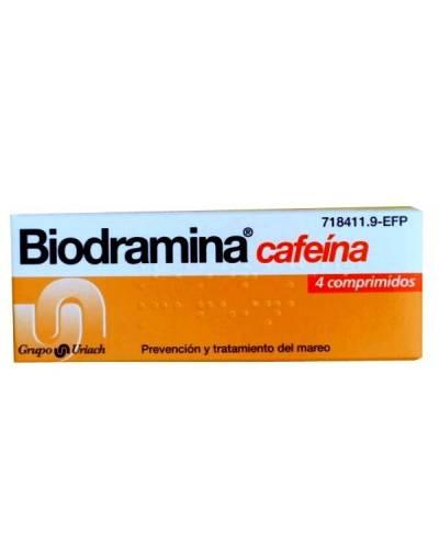 BIODRAMINA CAFEÍNA - 4...
