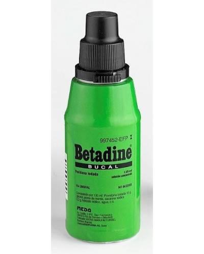 BETADINE - BUCAL - 125 ML