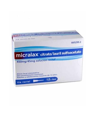 MICRALAX 450/45MG SOLUCIÓN...