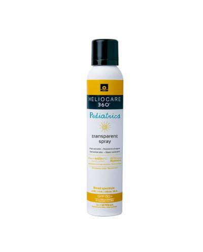 Heliocare 360 pediatrics transparente  spf 50+ spray  200 ml