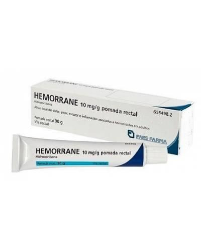 HEMORRANE 10 MG/G - POMADA...