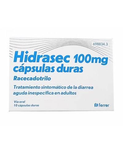 HIDRASEC 100 MG - 10...
