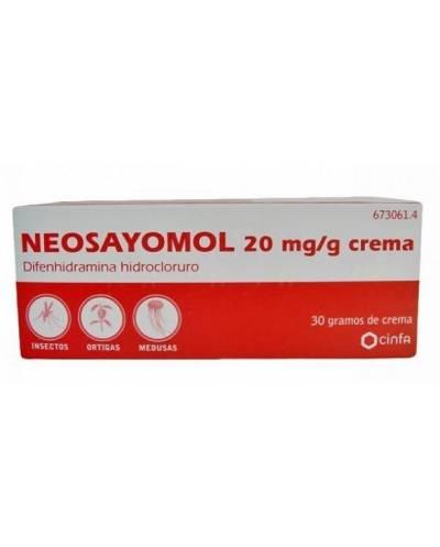 NEOSAYOMOL 20 MG/G - CREMA...
