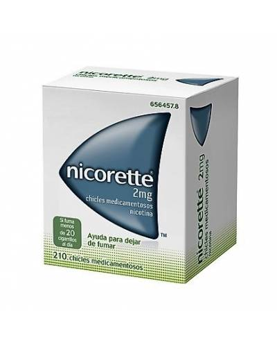 NICORETTE 2 MG - 210 CHICLES