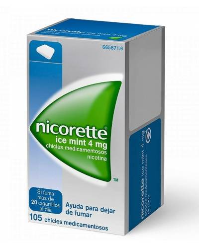 NICORETTE ICE MINT - 4 MG -...