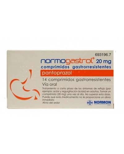 NORMOGASTROL 20 MG - 14...