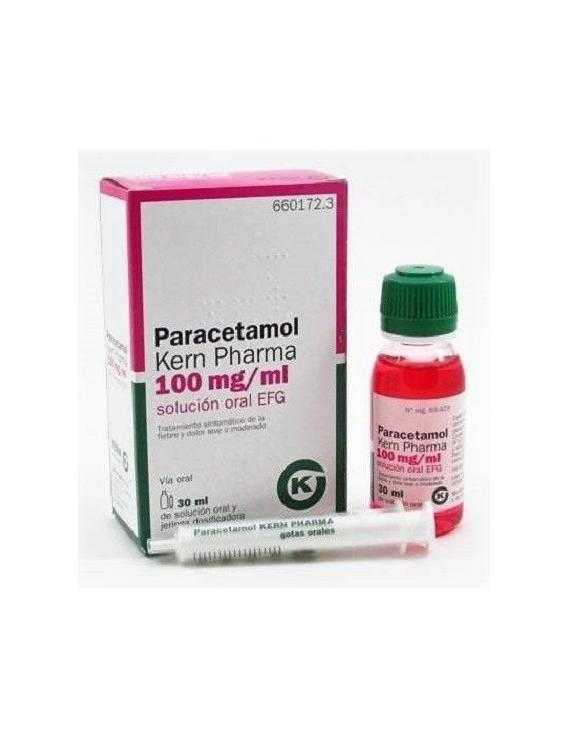 PARACETAMOL KERN PHARMA - 100 MG/ML - 30 ML