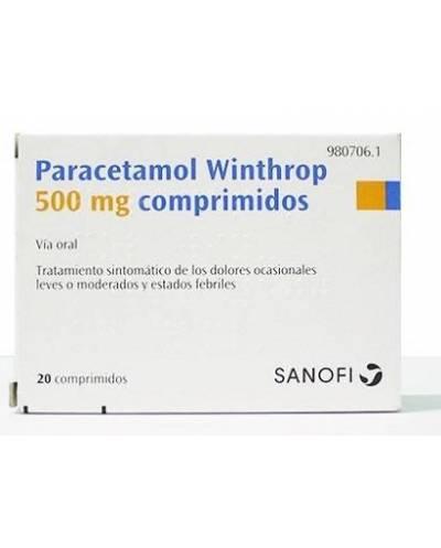 PARACETAMOL WINTHROP 500 MG...