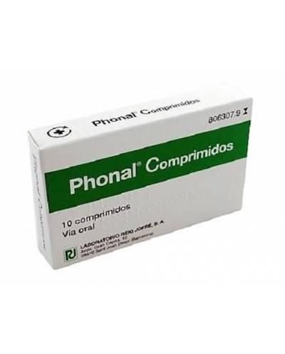 PHONAL - 10 COMPRIMIDOS