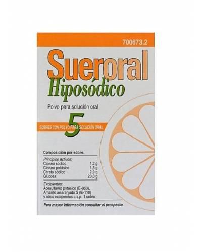 SUERORAL HIPOSÓDICO - 5 SOBRES