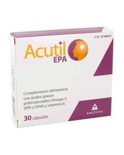 ACUTIL EPA 30 CÁPSULAS