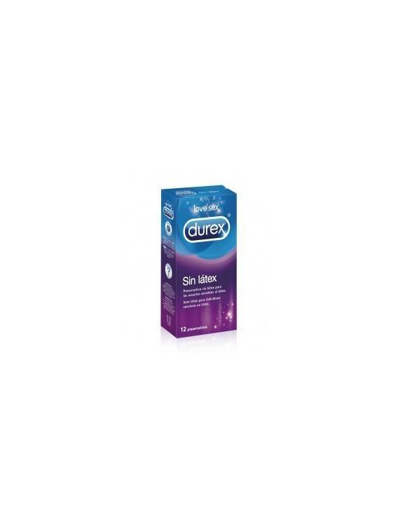 Preservativos Durex Sin Látex 12 Uds