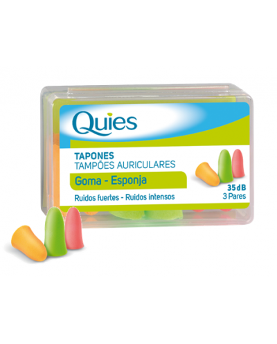 TAPONES OIDOS ESPUMA QUIES