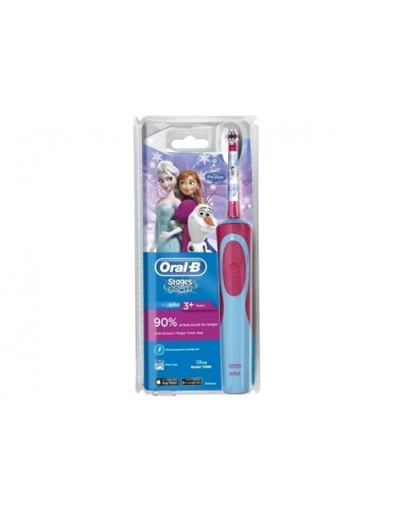 Cepillo Electrico Oral-B Stages Power 3+ Infantil Frozen