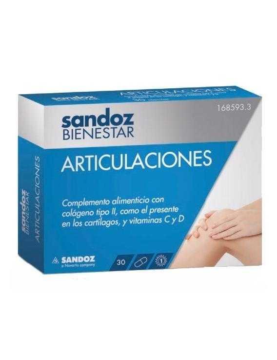 Articulaciones - sandoz bienestar - 30 capsulas