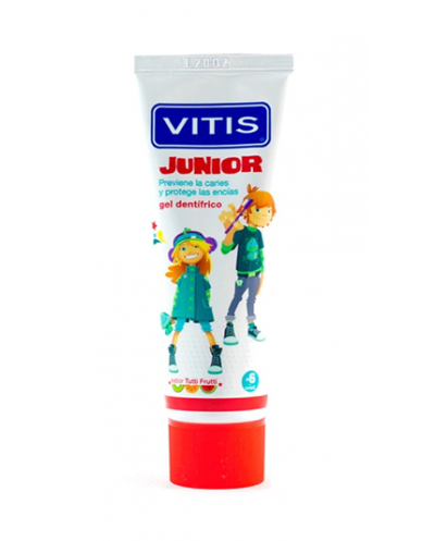 GEL DENTÍFRICO VITIS JUNIOR