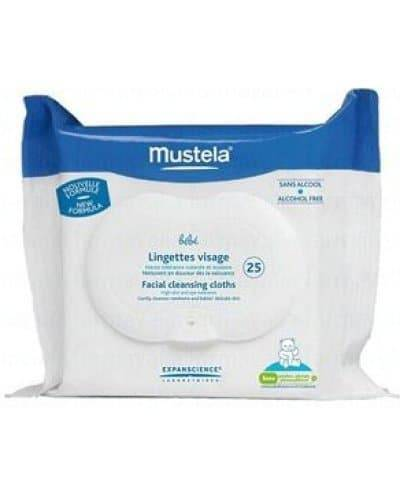 Mustela toallitas limpiadoras 25 unidades