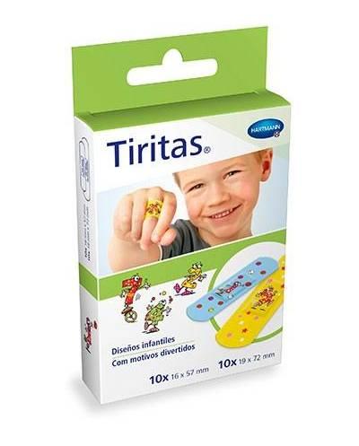 TIRITAS KIDS SURTIDO 20 U....
