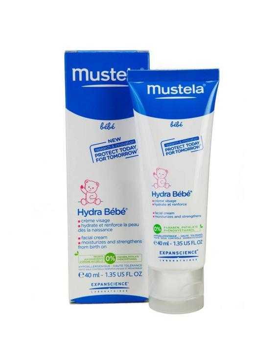Mustela hidra bebé-crema facial 50 ml