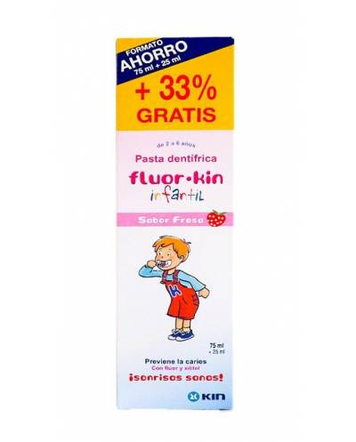 FLUOR KIN INFANTIL - PASTA...