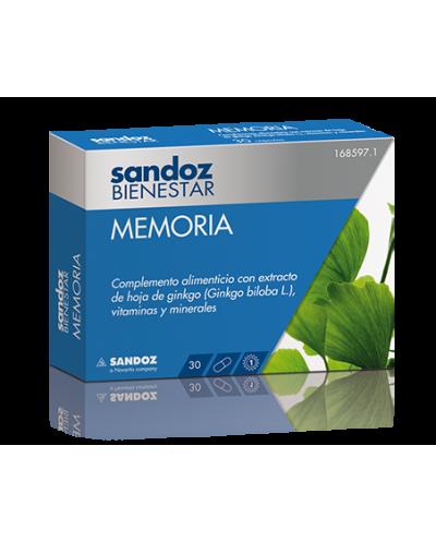 SANDOZ BIENESTAR MEMORIA 30...