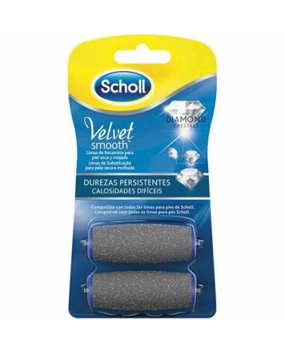 SCHOLL VELVET DIAMOND...