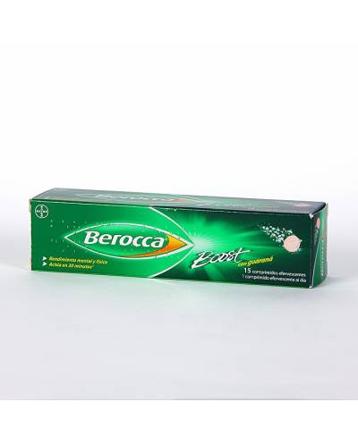 BEROCCA BOOST CON GUARANA...