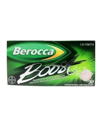 Berocca boost con guarana 30 comprimidos efervescentes