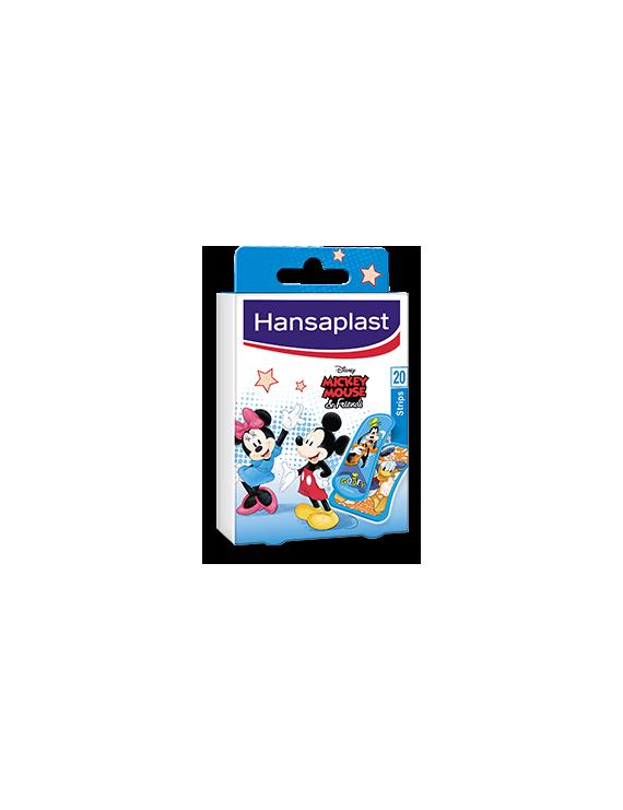 Hansaplast kids mickey mouse 20 strips