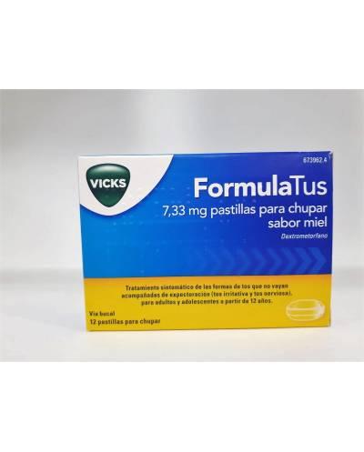 Formulatus - 7.33 mg - 12 pastillas para chupar