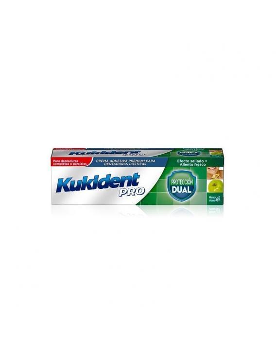 Kukident pro - protección dual - menta fresca - 40 g