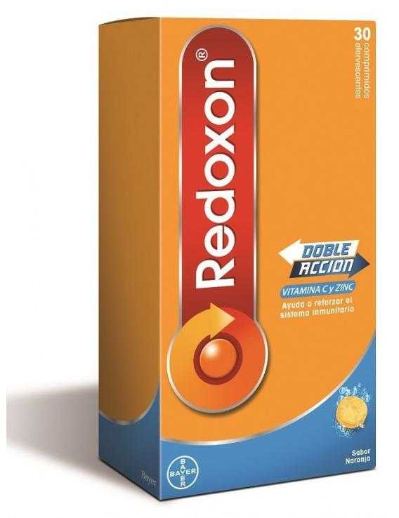 Redoxon - doble acción - 30 comp. Efervescentes