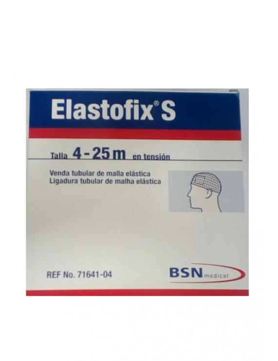 Venda tubular de malla elastofix s - ( 4 - 25 m en tensión )
