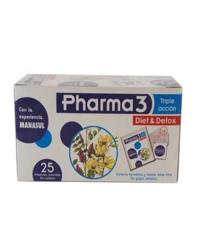 Pharma3 - triple acción - 25 infusiones