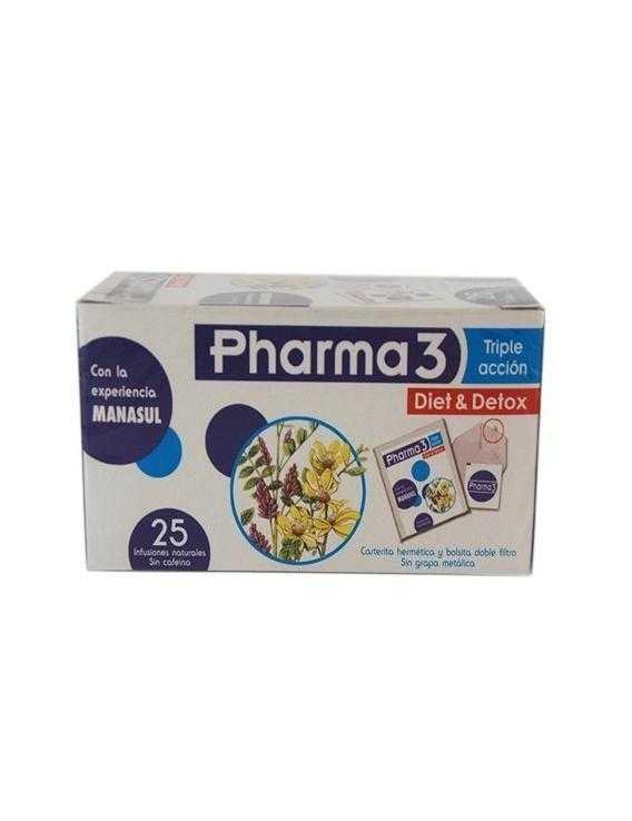 Pharma3 - triple acción - 25 infusiones
