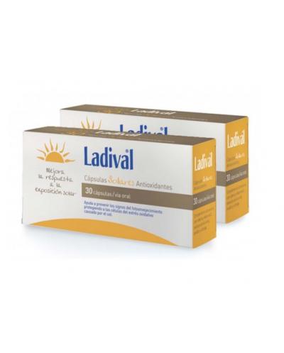 Ladival cápsulas sol antiox 30 unds duplo