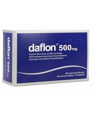 DAFLON 500 MG - 60 COMPRIMIDOS