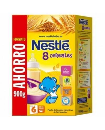 Nestle 8 cereales con bífidus - 900 gramos