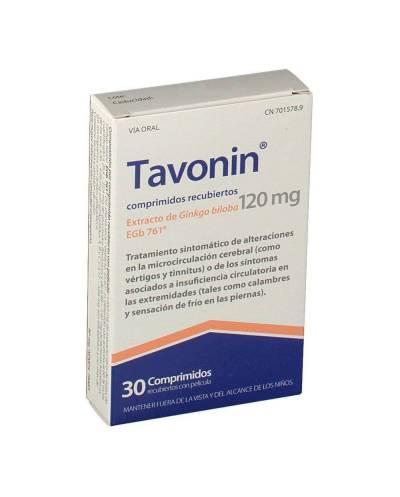 Tavonin 120 mg - 30 comprimidos