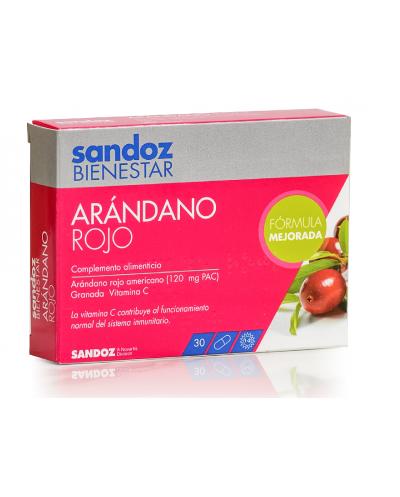 Arándano rojo sandoz  30 cápsulas