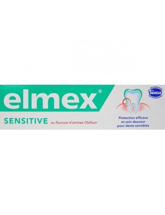 Elmex pasta dentífrica sensitive con fluoruro de amina 75 ml