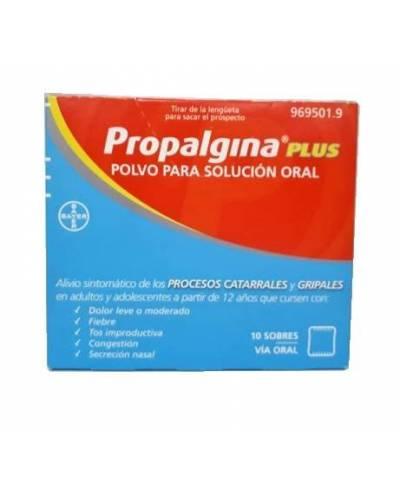 Propalgina plus - 10 sobres